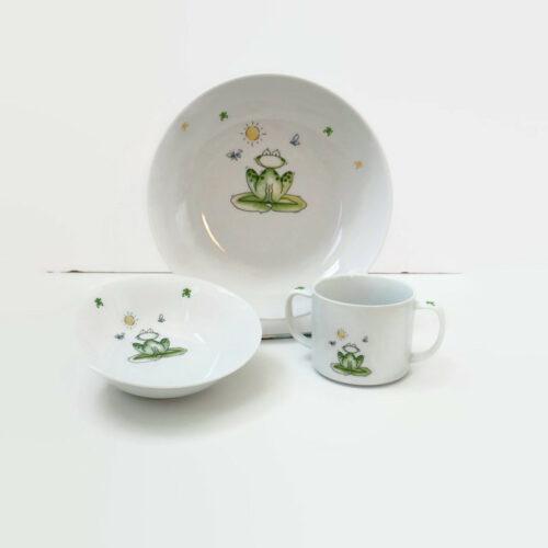 assiette et mug pour enfant personnalisable